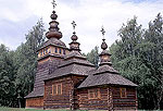 Lviv Photo Gallery. Open Air Museum, Wooden Church
