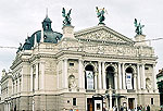 Lviv Photo Gallery. The Lviv Theatre Of Opera And Ballet